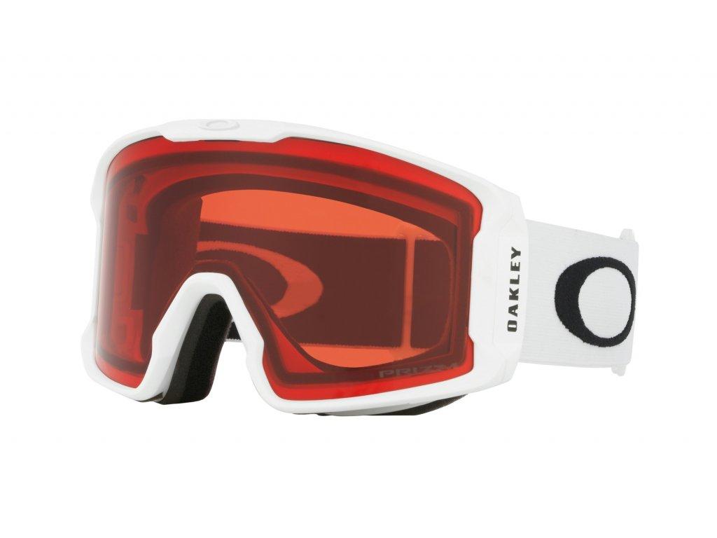 Brýle Oakley LINE MINER, matte white, prizm rose 01