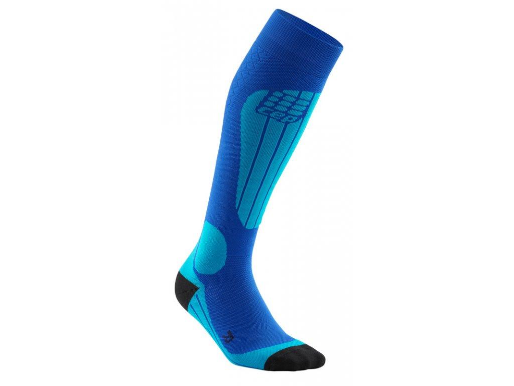 Ponožky Cep SKI THERMO COMPRESSION SOCKS, blue azure 01