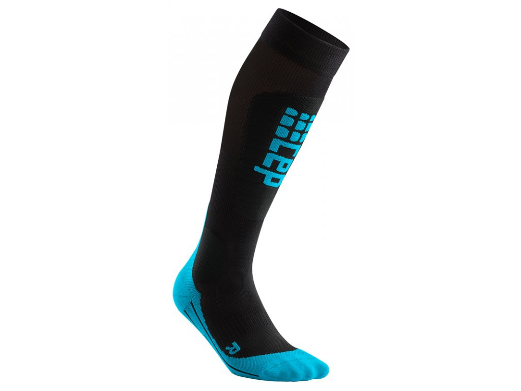 Ponožky Cep SKI ULTRALIGHT COMPRESSION SOCKS, black blue 01