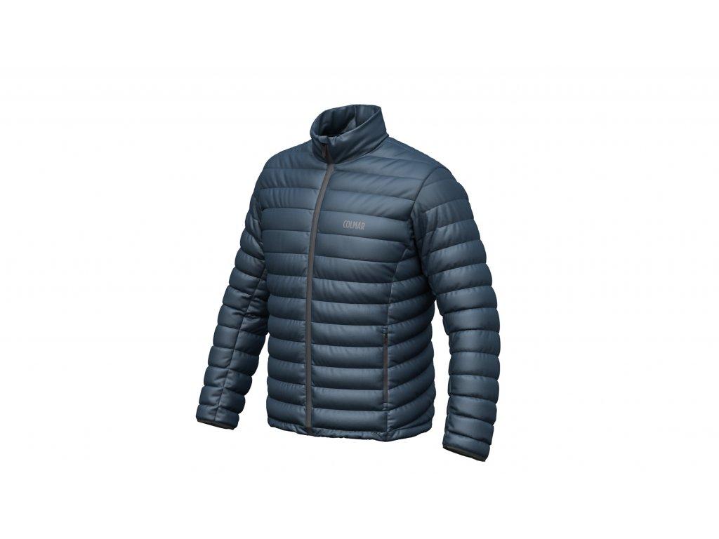 Pánská bunda Colmar ENIGMA PRIMALOFT JACKET, blue black/blue grey