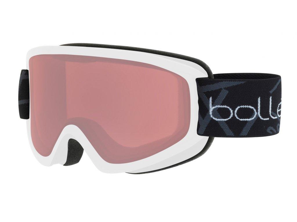 Brýle Bollé FREEZE, matte white, vermillon