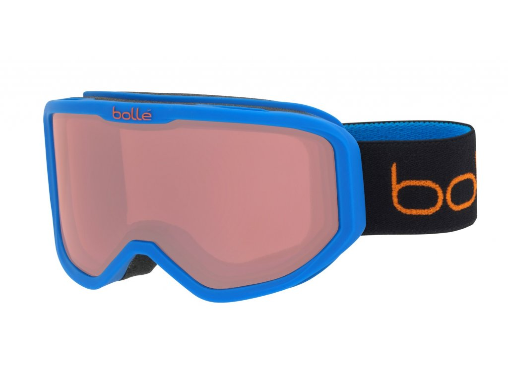 Brýle Bollé INUK, matte blue animals, vermillon