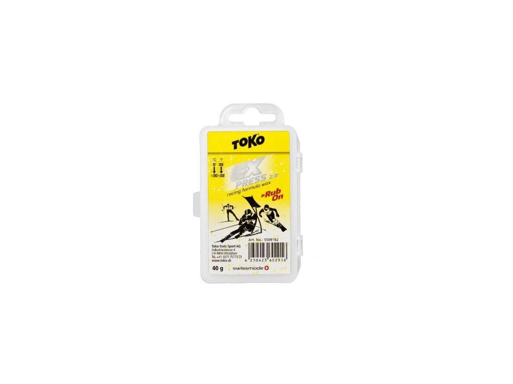 Vosk Toko EXPRESS RACING RUB ON, 40g