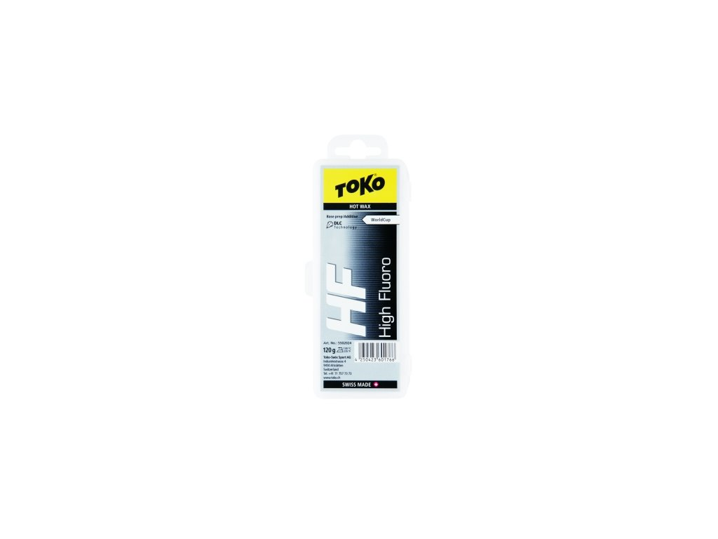 Vosk Toko HF HOT WAX, black, 40g