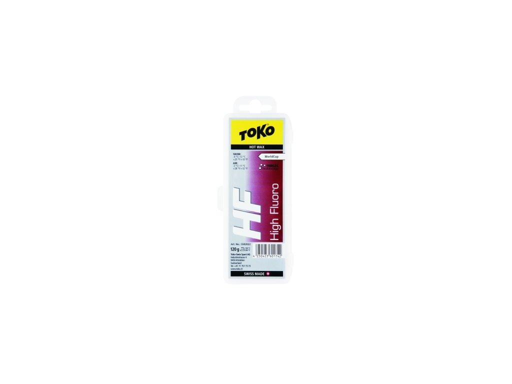 Vosk Toko HF HOT WAX, red, 40 g