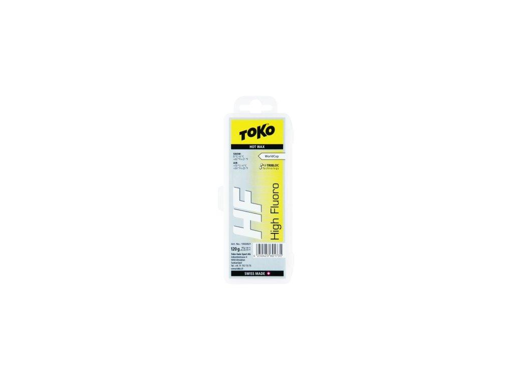 Vosk Toko HF HOT WAX, yellow, 120 g