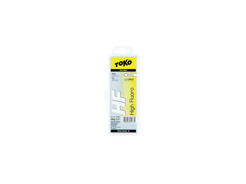 Vosk Toko HF HOT WAX, yellow, 40 g
