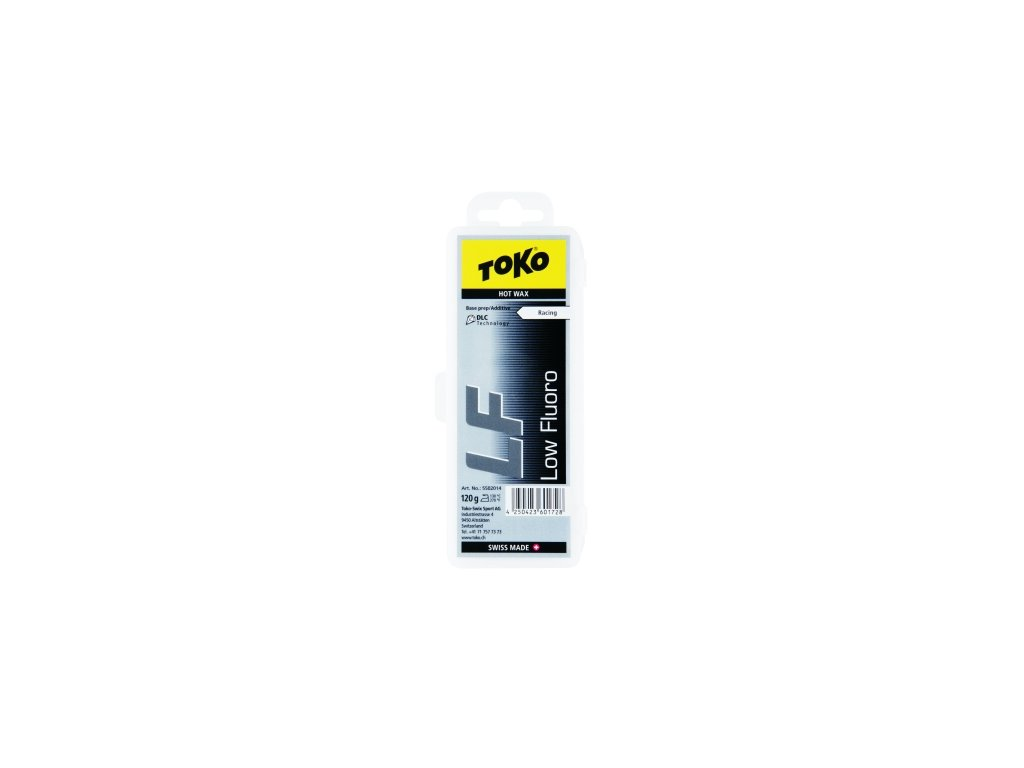 Vosk Toko LF HOT WAX, black, 120 g