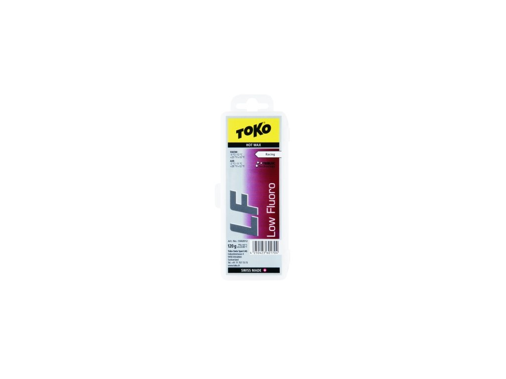 Vosk Toko LF HOT WAX, red, 40 g