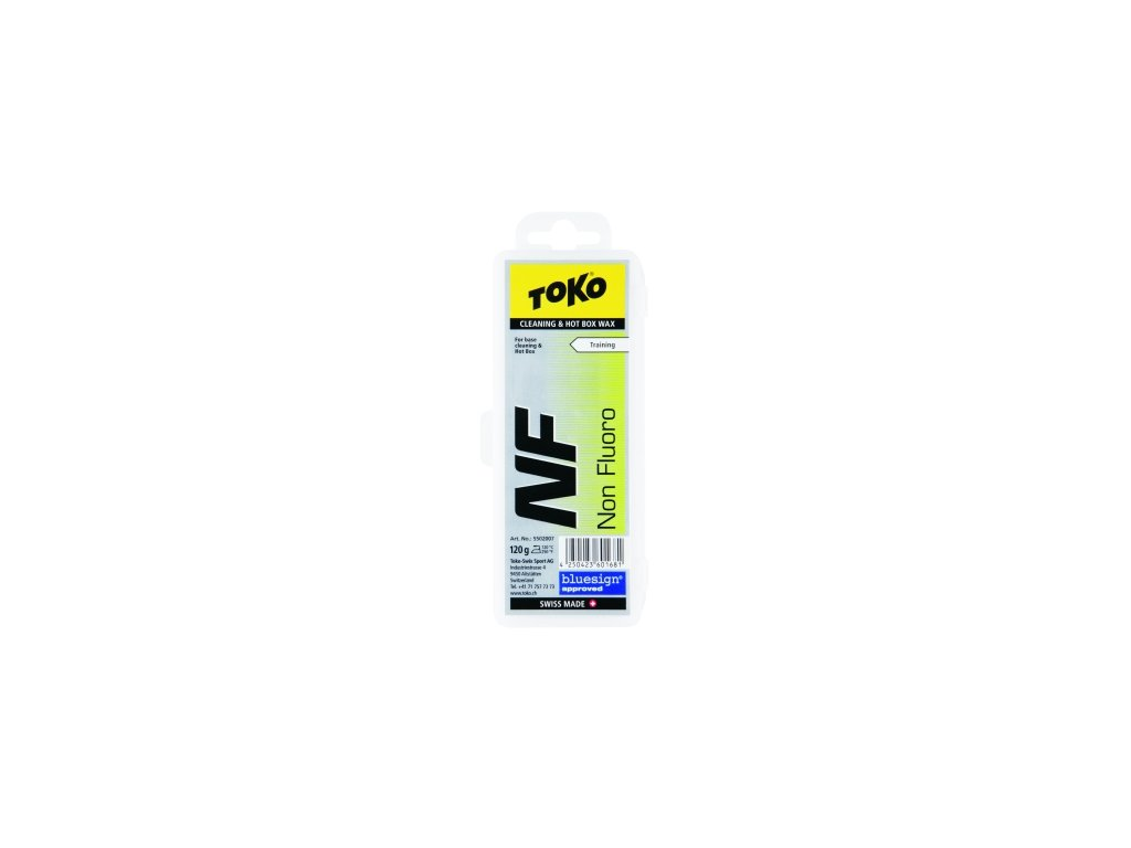 Vosk Toko NF CLEANING HOT BOX WAX, 120g