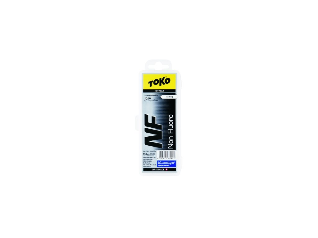 Vosk Toko NF HOT WAX, black, 40 g