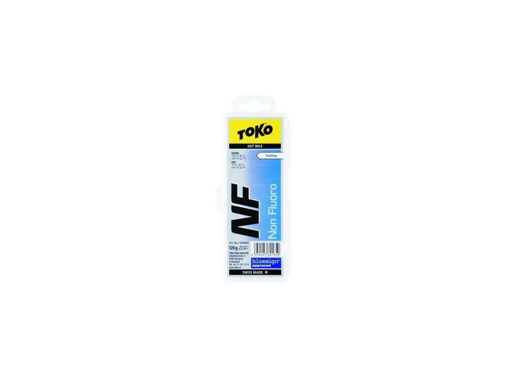Vosk Toko NF HOT WAX, blue, 40 g