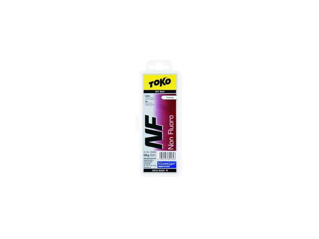 Vosk Toko NF HOT WAX, red, 120 g