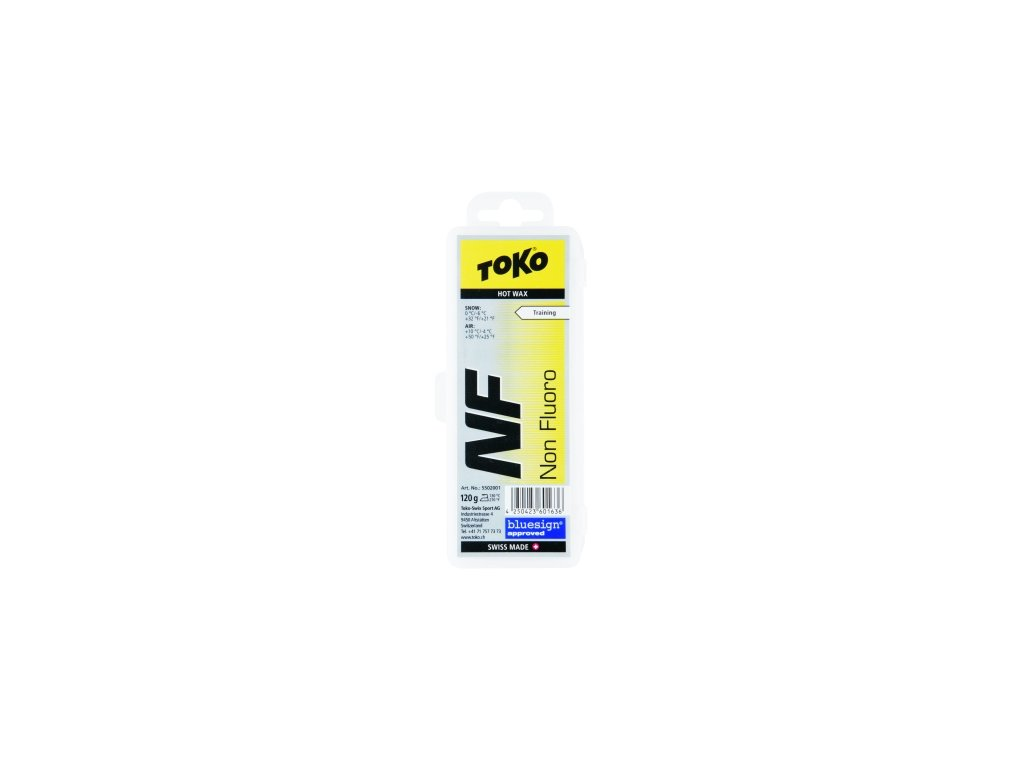 Vosk Toko NF HOT WAX, yellow, 120 g