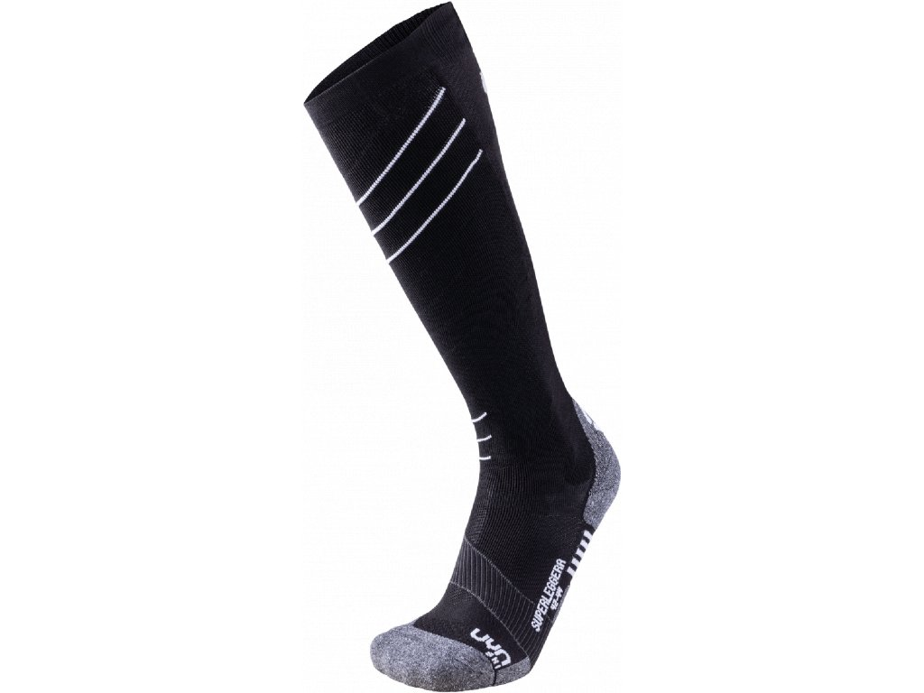Ponožky UYN SKI SUPERLEGGERA MAN, black white 01