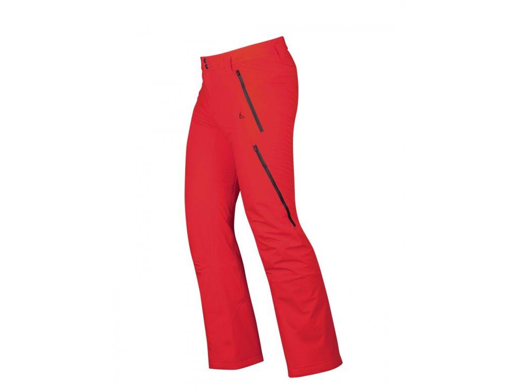 Pánské kalhoty Capranea CASANNA, fiery red