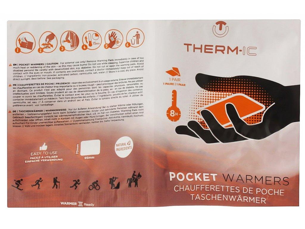 Hřejivé sáčky na ruce Thermic HEAT POCKETWARMER