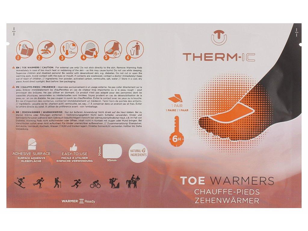 Hřejivé sáčky na nohy Thermic HEAT TOEWARMER