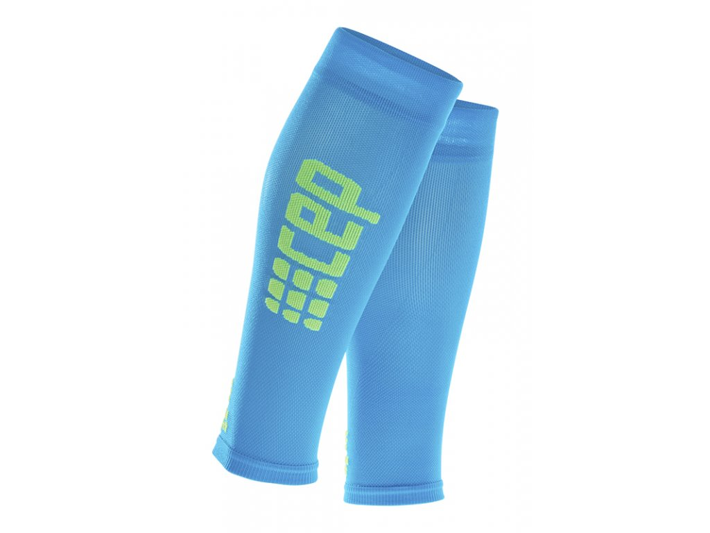 Cep ULTRALIGHT CALF SLEEVES, electric blue green