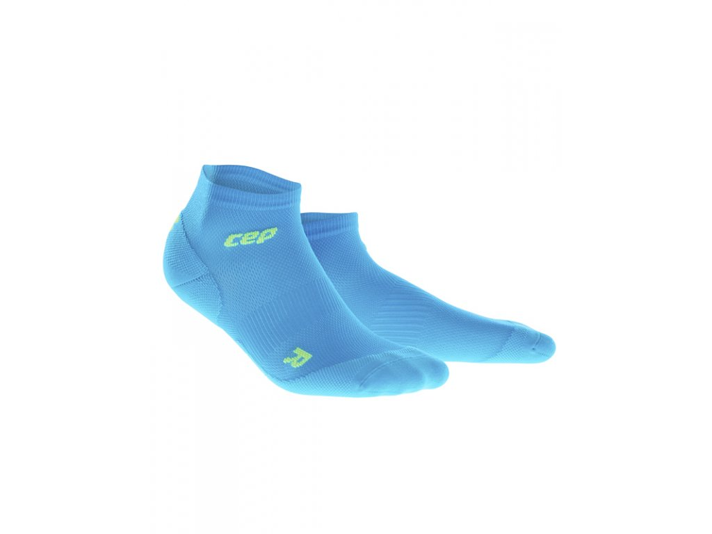 Cep ULTRALIGHT LOW CUT SOCKS, electric blue green