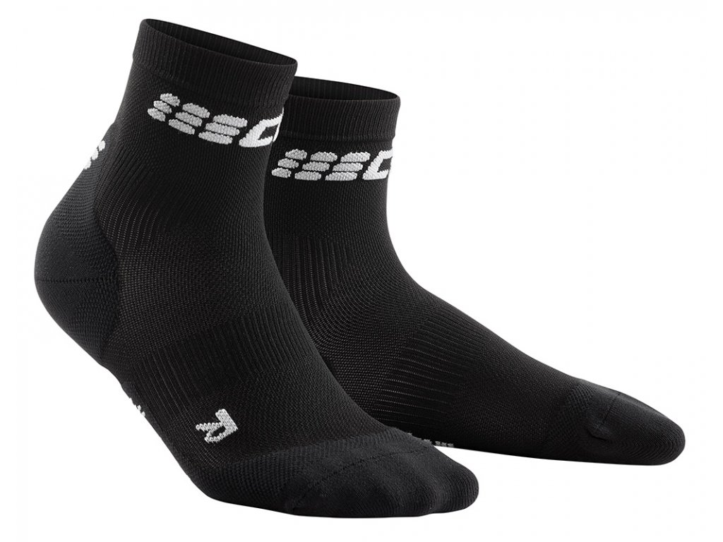 Cep ULTRALIGHT SHORT SOCKS, black grey