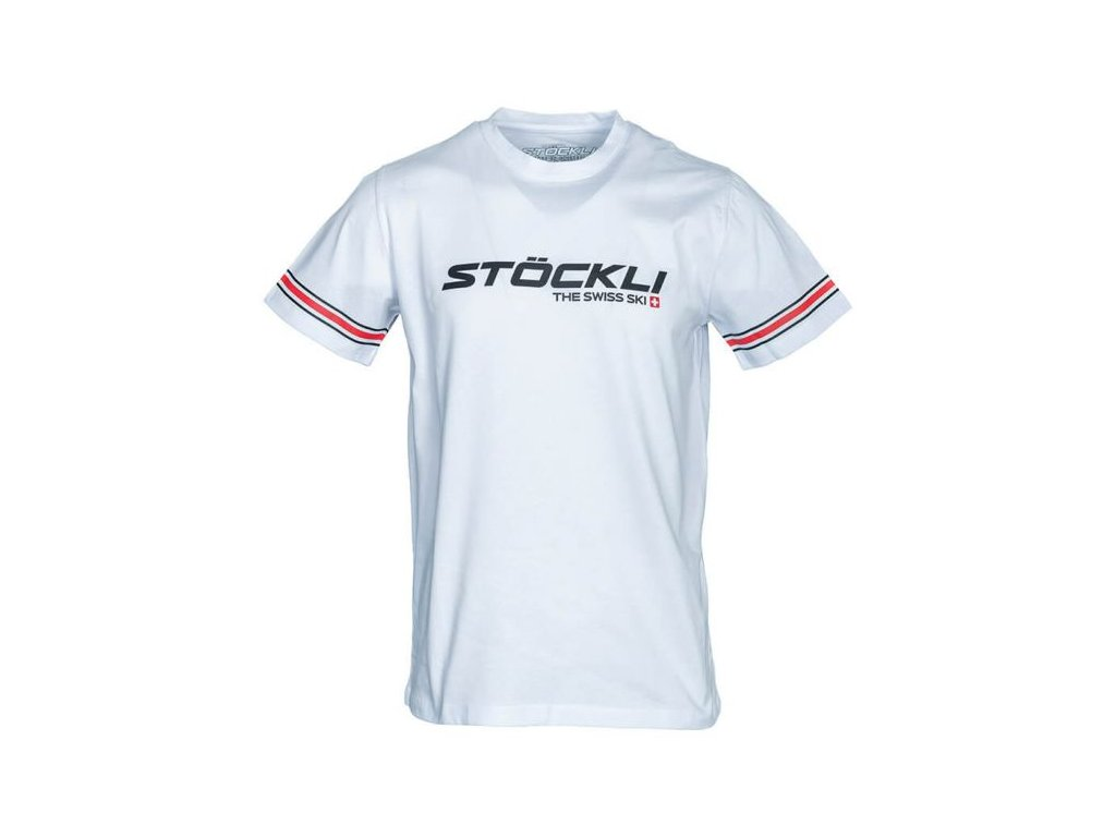 Pánské triko Stöckli T-SHIRT UNI, white