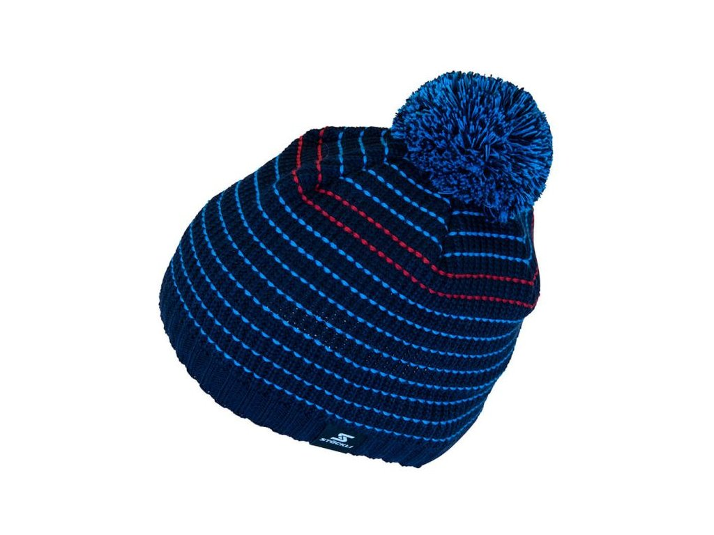 Čepice Stöckli MEN HEAD, stripe navy