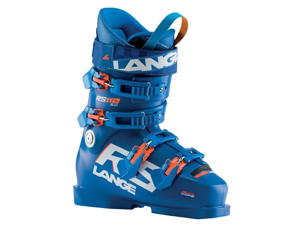 Dětská obuv Lange RS 110 SC, power blue/orange fluo