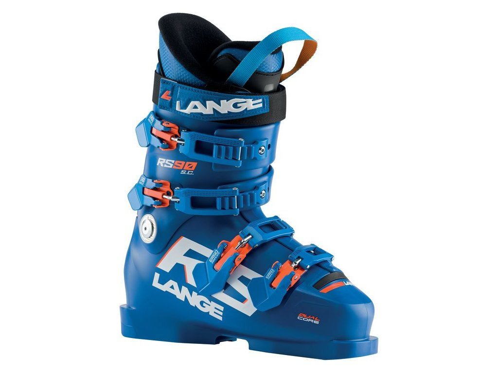 Dětská obuv Lange RS 90 SC, power blue/orange fluo