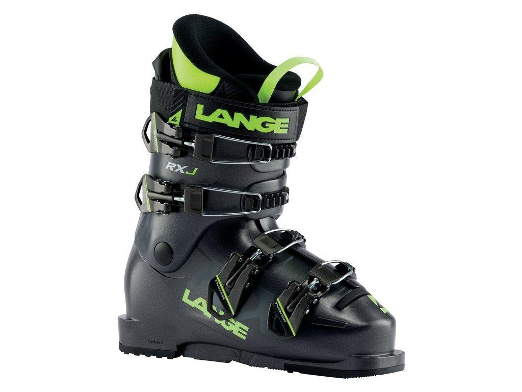 Dětská obuv Lange RXJ, anthracite/lime