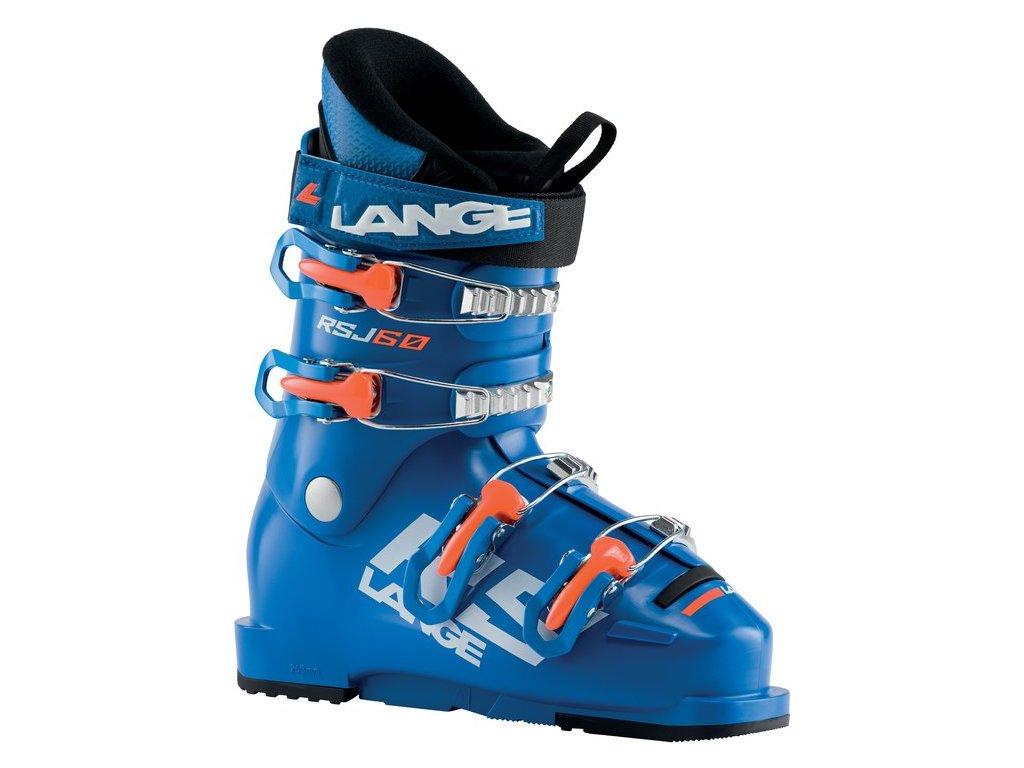 Dětská obuv Lange RSJ 60, power blue/orange fluo