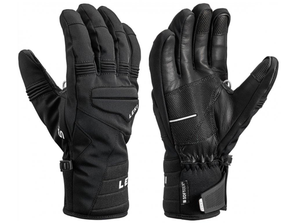 Pánské rukavice Leki PROGRESSIVE 7 S MF TOUCH, black