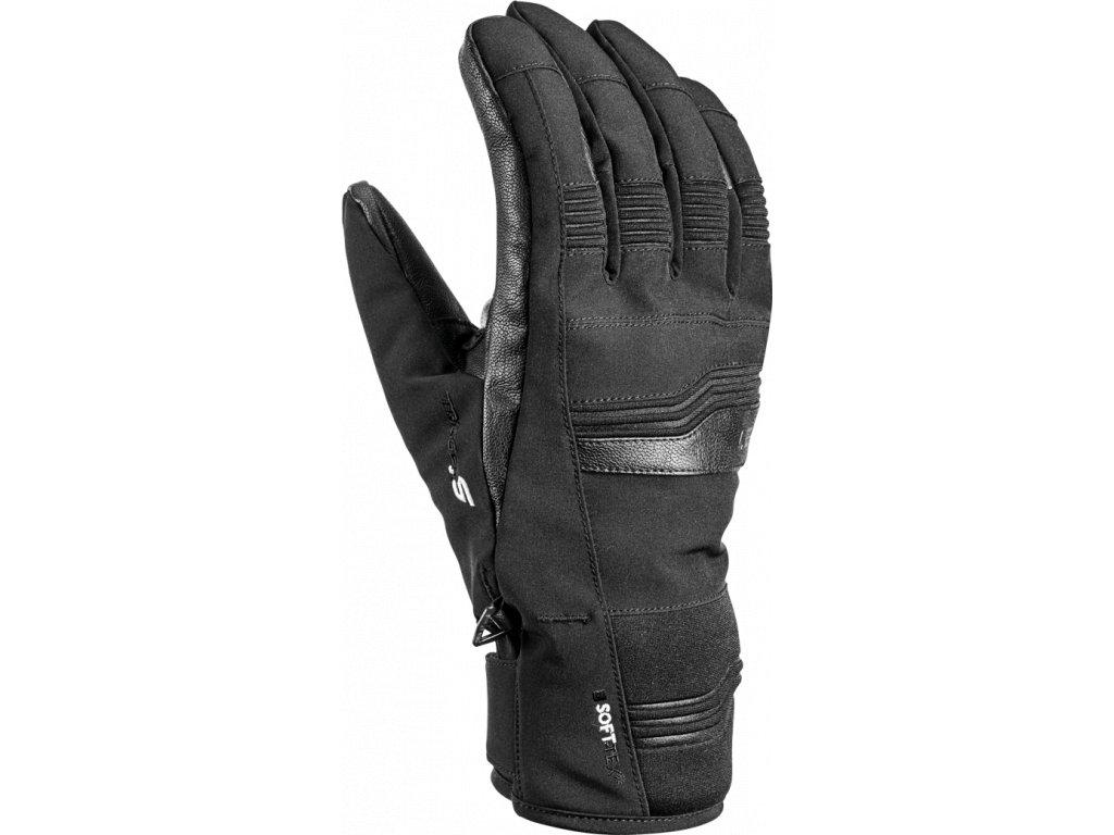 Pánské rukavice Leki CERRO S, black