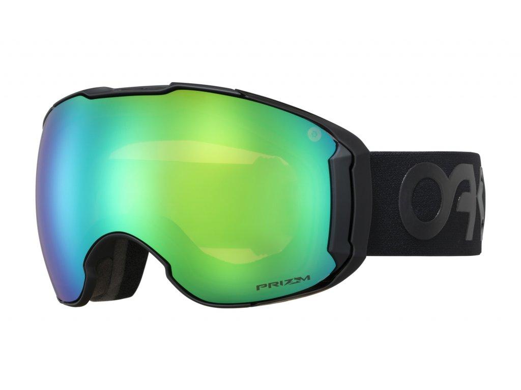 Brýle Oakley AIRBRAKE XL, factory pilot blac, prizm jade iridium & prizm rose 01