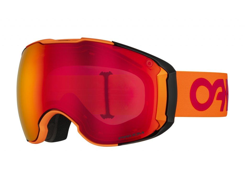 Brýle Oakley AIRBRAKE XL, orange, prizm torch iridium & prizm hi pink ir 01