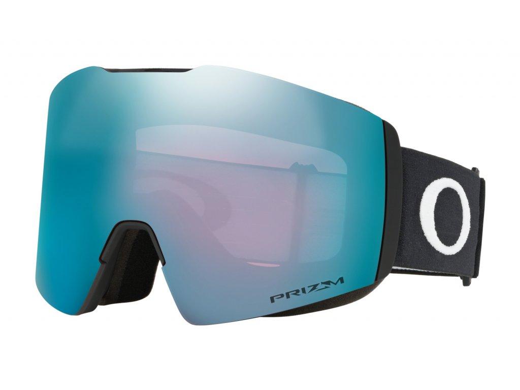 Brýle Oakley FALL LINE XL, matte black, prizm sapphire iridium 01