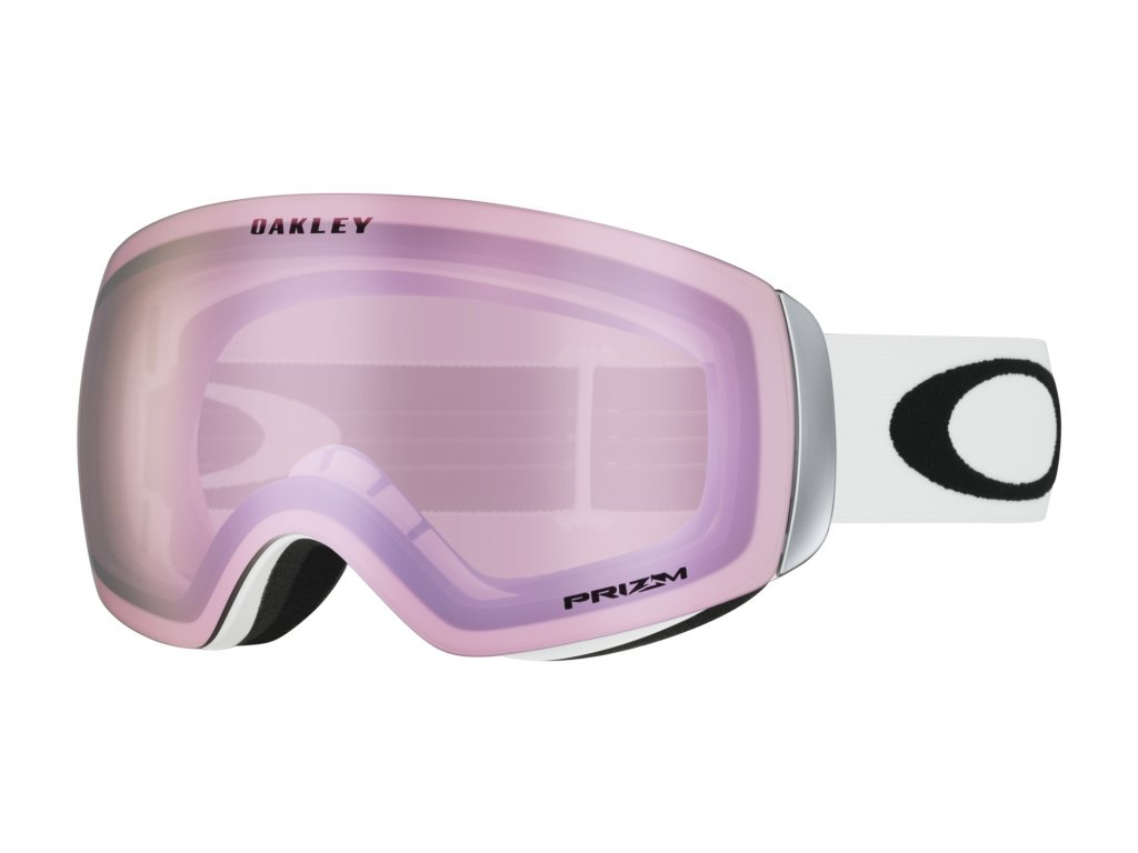 Brýle Oakley FLIGHT DECK XM, matte white, prizm hi pink iridium 01