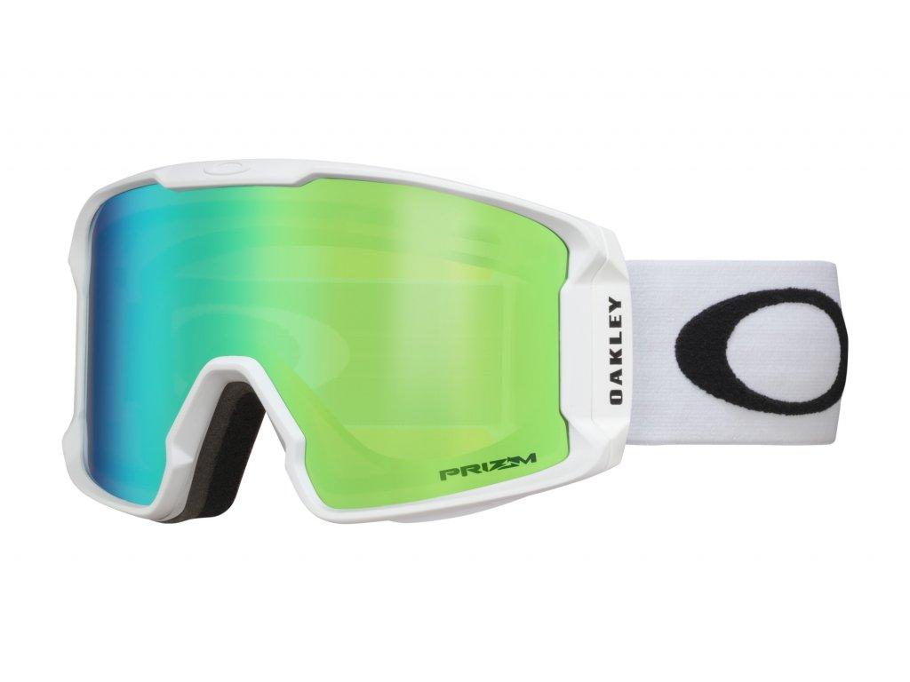 Brýle Oakley LINE MINER, matte white, prizm jade iridium