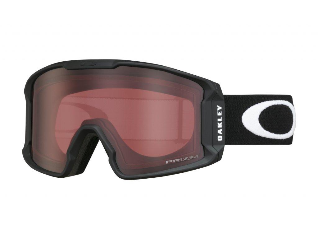 Brýle Oakley LINE MINER XM, matte black, prizm rose 01