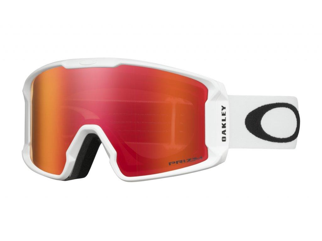 Brýle Oakley LINE MINER XM, matte white, prizm hi pink iridium