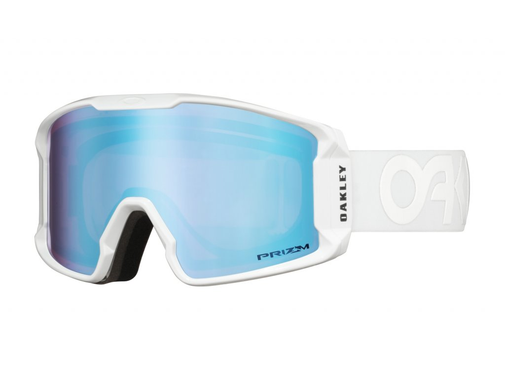 Brýle Oakley LINE MINER XM, fact pilot white, prizm sapphire iridium 01