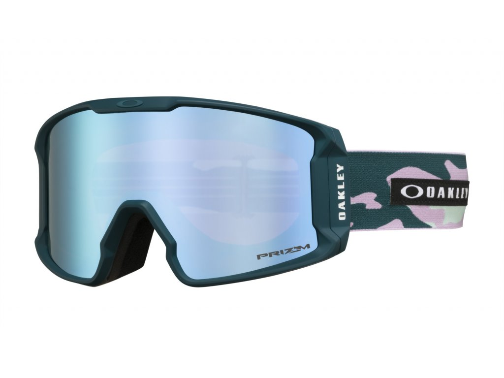 Brýle Oakley LINE MINER XM, pink camo, prizm sapphire iridium