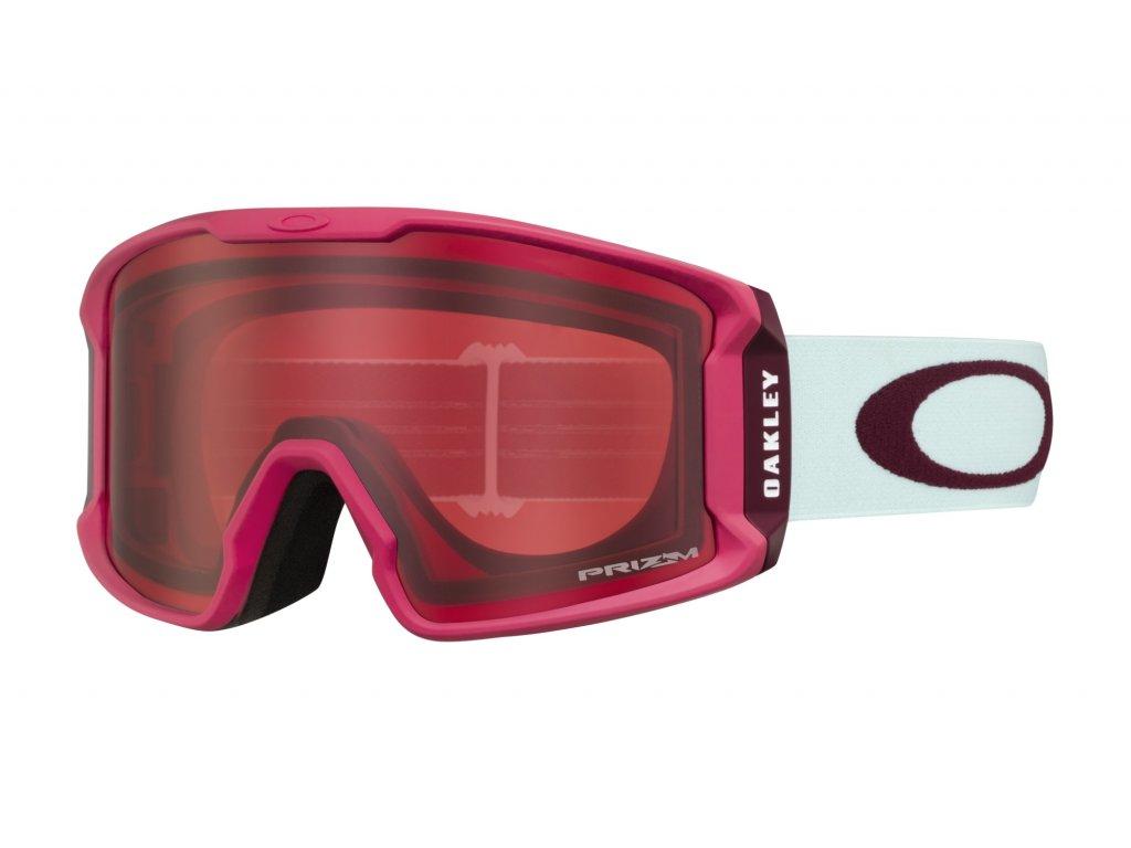 Brýle Oakley LINE MINER XM, strong red jasmine, prizm rose 01