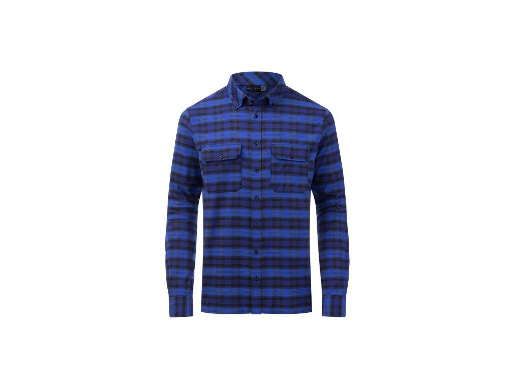 Pánská košile Kjus MACUN SHIRT, into the blue