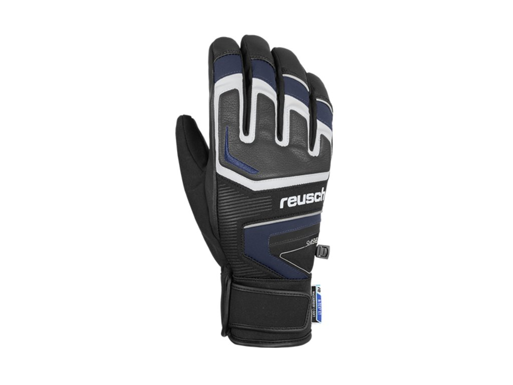 Rukavice Reusch THUNDER R TEX® XT, black dress blue