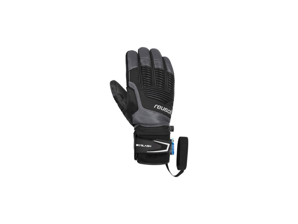 Pánské rukavice Reusch SLASH R-TEX® XT, black/grey
