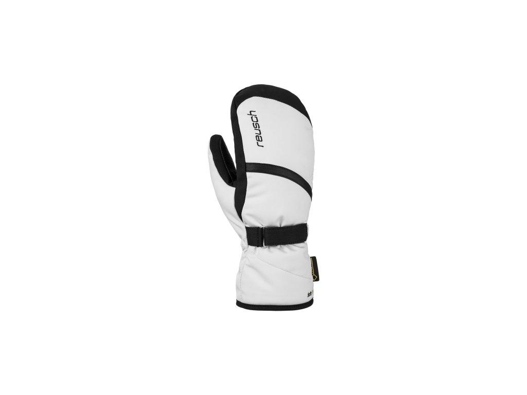 Rukavice palcové Reusch ALEXA GTX® MITTEN, white black