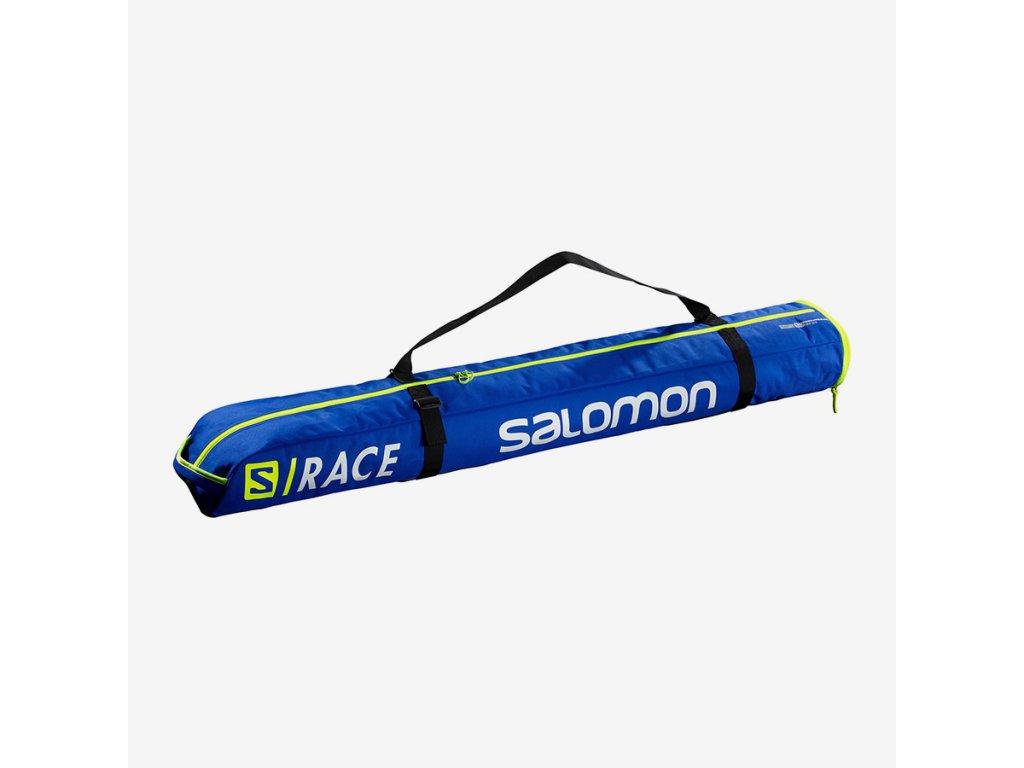 Vak na lyže Salomon EXTEND 1P SKIBAG, race blue, 130+25 cm