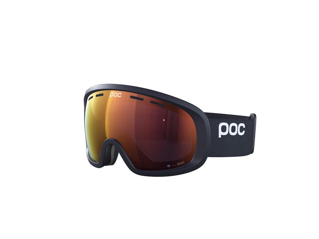 Brýle POC FOVEA MID CLARITY, uranium black/spektris orange