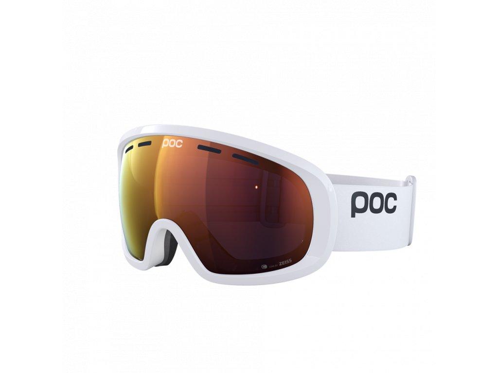 Brýle POC FOVEA MID CLARITY, hydrogen white/spektris orange